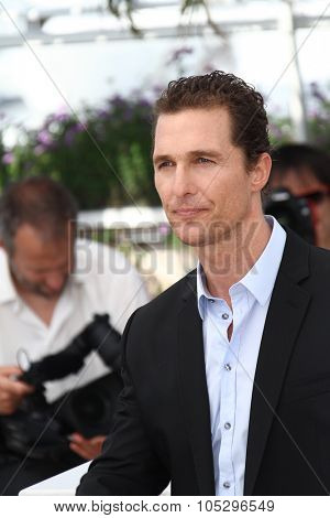 CANNES, FRANCE - MAY 24: Matthew McConaughey attends the 'The Paperboy' photocall during the 65th Cannes  Festival at Palais des Festivals on May 24, 2012 in Cannes, France.