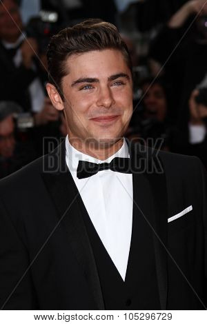 CANNES, FRANCE - MAY 24:  Zac Efron attends the 'The Paperboy' premiere during the 65th Cannes Film Festival at Palais des Festivals on May 24, 2012 in Cannes, France