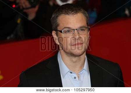 BERLIN, GERMANY - FEBRUARY 08: Actor Matt Damon attends 'Promised Land' Premiere during the 63rd Berlinale International Film Festival at Berlinale Palast on February 8, 2013 in Berlin, Germany