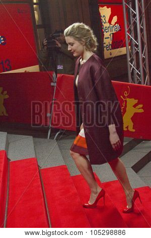 BERLIN, GERMANY - FEBRUARY 14: Greta Gerwig attends the 'Frances Ha' Premiere during the 63rd Berlinale International Film Festival at Friedrichstadt Palast on February 14, 2013 in Berlin, Germany.