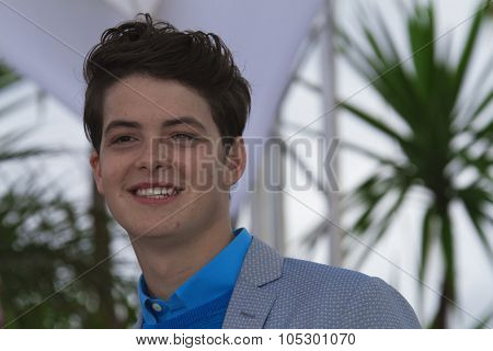 CANNES, FRANCE - MAY 16: Israel Broussard attends 'The Bling Ring' photocall during the 66th  Cannes Film Festival at Palais des Festival on May 16, 2013 in Cannes, France.