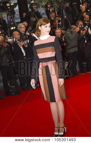 CANNES, FRANCE - MAY 18: Louise Bourgoin attends the Premiere of 'Jimmy P. (Psychotherapy Of A Plains Indian)' at The 66th Annual Cannes Film Festival on May 18, 2013 in Cannes, France.