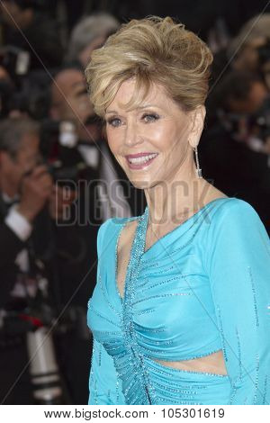 CANNES, FRANCE - MAY 18: Jane Fonda attends 'Jimmy P. (Psychotherapy Of A Plains Indian)' Premiere during the 66th Cannes Film Festival at Grand Theatre Lumiere on May 18, 2013 in Cannes, France.