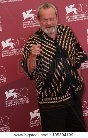 VENICE, ITALY - SEPTEMBER 02:  Terry Gilliam attends 'The Zero Theorem' Photocall during the 70th Venice International Film Festival at the Palazzo del Casino on September 2, 2013 in Venice, Italy