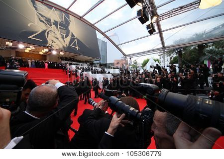 CANNES, FRANCE - MAY 14:  A general view of atmosphere the opening ceremony and 'Grace of Monaco' premiere at the 67th Annual Cannes Film Festival on May 14, 2014 in Cannes, France.