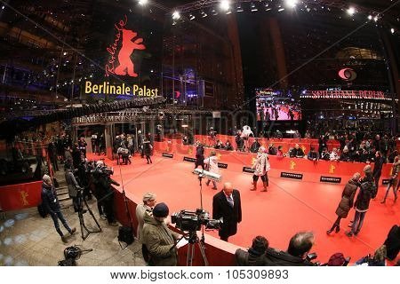 BERLIN, GERMANY - FEBRUARY 07: Berlinale Palast, the main venue at the 65th Berlinale International Film Festival on February 07, 2015 in Berlin, Germany