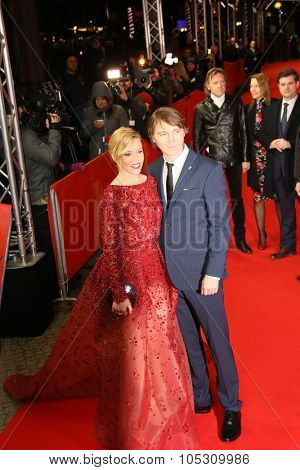 FEBRUARY 08: Elizabeth Banks, Paul Dano attends the 'Love & Mercy' premiere during the 65th Berlinale  Film Festival at Friedrichstadt-Palast on February 8, 2015 in Berlin, Germany.