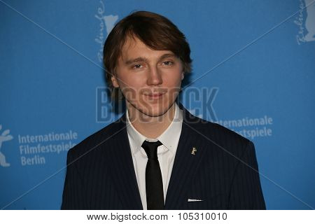BERLIN, GERMANY - FEBRUARY 08: Paul Dano attends the 'Love & Mercy' photocall during the 65th Berlinale Festival at Hyatt Hotel on February 8, 2015 in Berlin, Germany.