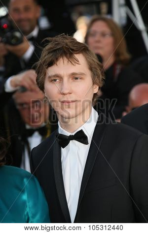 CANNES, FRANCE - MAY 20, 2015: Paul Dano attends the 'Youth' Premiere during the 68th annual Cannes Film Festival on May 20, 2015 in Cannes, France.