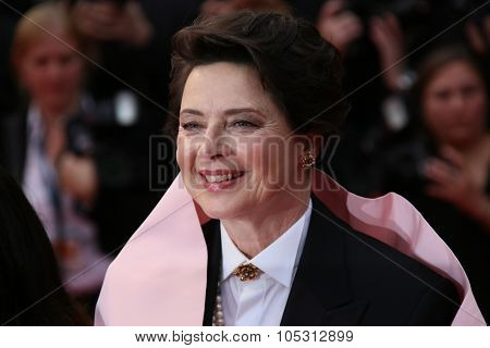 Isabella Rossellini attends the 'Macbeth' Premiere during the 68th annual Cannes Film Festival on May 23, 2015 in Cannes, France.
