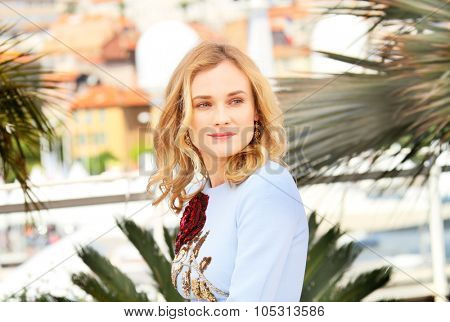 Diane Kruger attends the 'Disorder' photocall during the 68th annual Cannes Film Festival on May 16, 2015 in Cannes, France.
