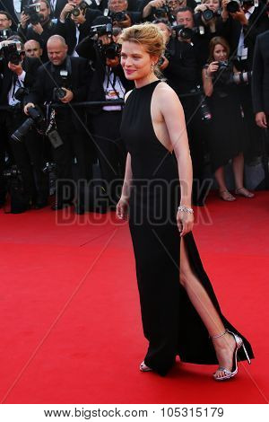 Melanie Thierry attends the 'Carol' Premiere during the 68th annual Cannes Film Festival on May 17, 2015 in Cannes, France