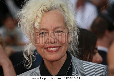 Ellen von Unwerth attends the 'Macbeth' Premiere during the 68th annual Cannes Film Festival on May 23, 2015 in Cannes, France.