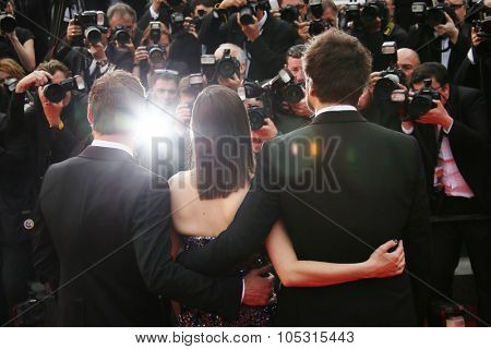 Michael Fassbender, Marion Cotillard attend the 'Macbeth' Premiere during the 68th annual Cannes Film Festival on May 23, 2015 in Cannes, France.