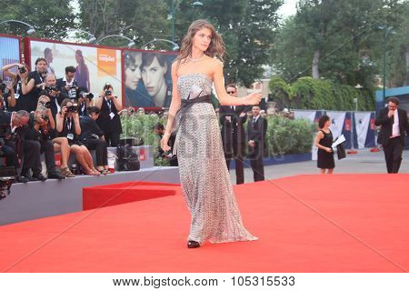 Elisa Sednaoui attend the opening ceremony and premiere of 'Everest' during the 72nd Venice Film Festival on September 2, 2015 in Venice, Italy.
