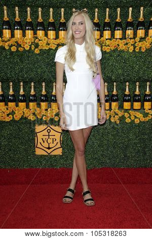 LOS ANGELES - OCT 17:  Djuna Bel at the Sixth-Annual Veuve Clicquot Polo Classic at the Will Rogers State Historic Park on October 17, 2015 in acific Palisades, CA