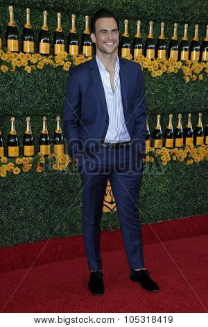 LOS ANGELES - OCT 17:  Cheyenne Jackson at the Sixth-Annual Veuve Clicquot Polo Classic at the Will Rogers State Historic Park on October 17, 2015 in acific Palisades, CA