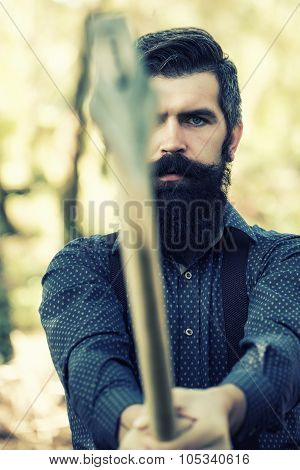 Man With Axe