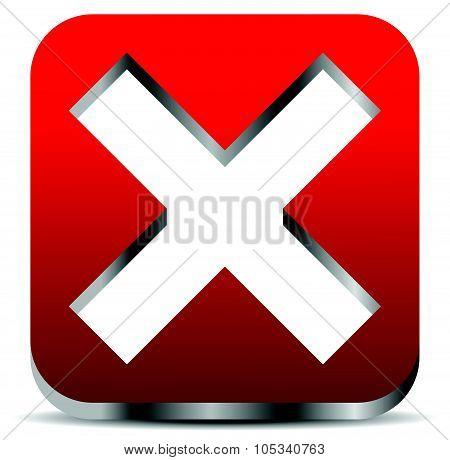 Remove, Delete Button, Icon.