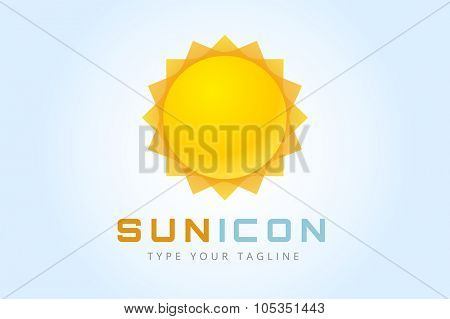 Sun burst star logo icon. Sun star, summer, nature, sky, summer. Sunshine sun logo. Sun icon. Sun logo. Nature sun star. Star vector icon logo. Star sun silhouette. Sun isolated