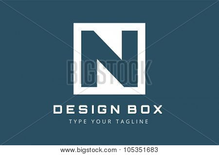 N letter vector. N logo icon template. N symbol silhouette. N isolated icon, N line style letter, N logotype, N logotype, N modern symbol, N company name brand. N letter vector company brand name