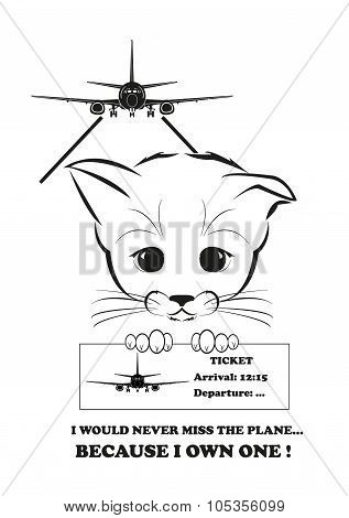 Boso would never miss the his plane