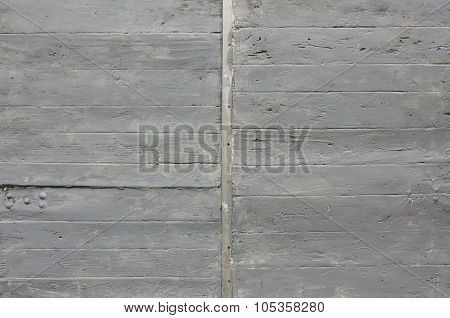 Gray Painted Wooden Background