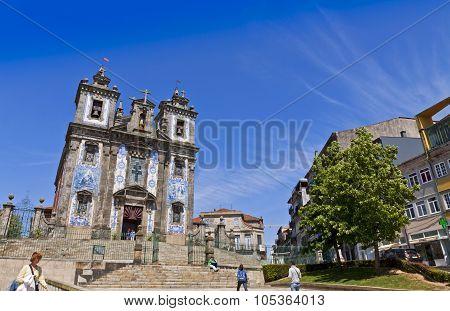 Church Of Saint Ildefonso (igreja De Santo Ildefonso), Porto, Portugal