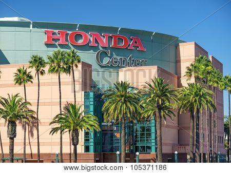 Honda Center Exterior View