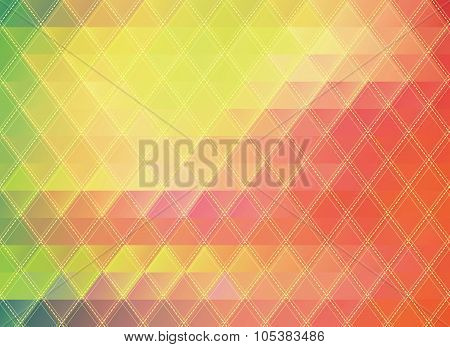 colorful polygonal abstract background
