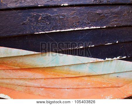 Rusty Grunge Aged Steel Iron Paint Background