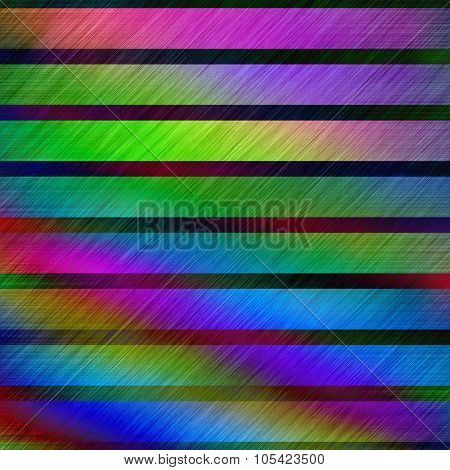 Rainbow colors rough metallic surface abstract illustration