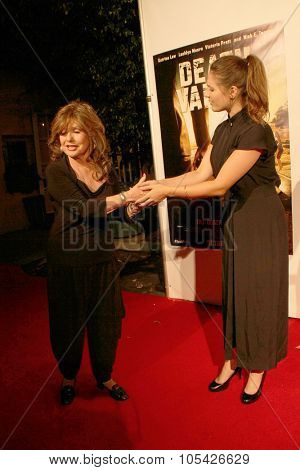 LOS ANGELES- OCT 17: Dawn Wells and Kristin Naomi Garcia arrives at the