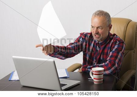 Man At The Laptop