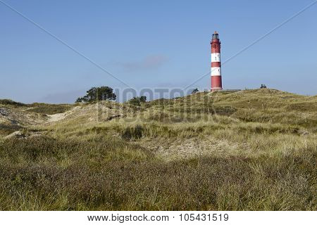 Amrum (germany) - Lighthouse In The Sand Dunes