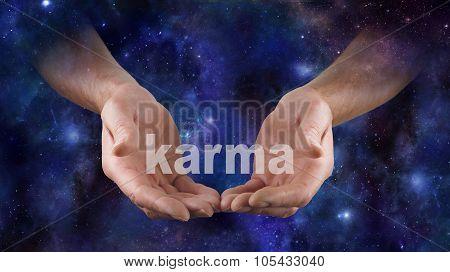 Cosmic Karma is in Your Hands