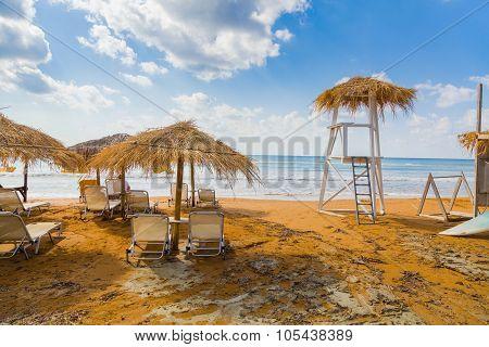 Beach At The Ionic Sea