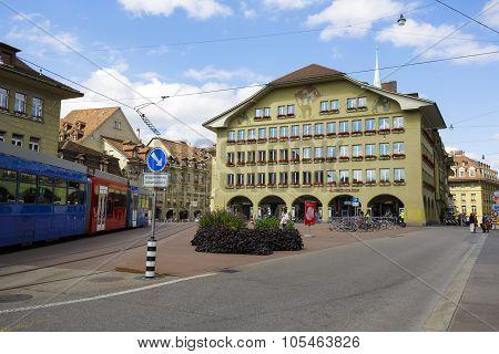 The Building At Casinoplatz In Bern