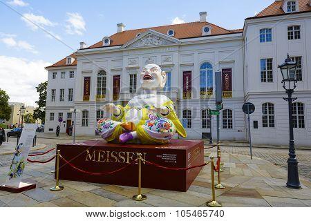 A Huge Mascot In Dresden