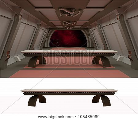 The Last Supper In Galactic Environment