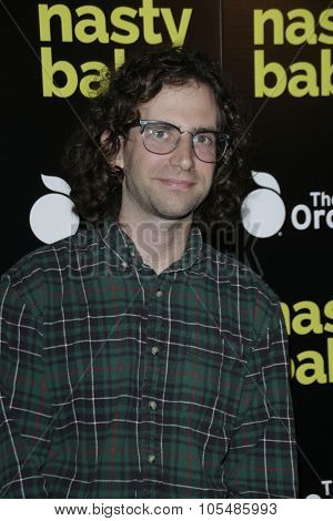 LOS ANGELES - OCT 19: Kyle Mooney at the Premiere of Nasty Baby at ArcLight Cinemas on October 19, 2015 in Los Angeles, California.
