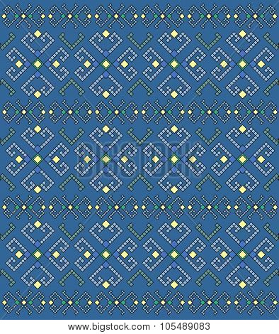 Ethnic Geometric Pattern, Background.