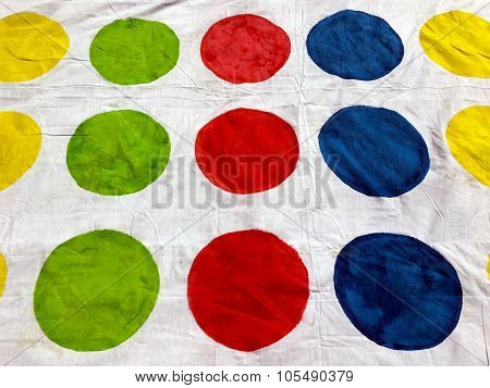 Background photo of Colorful circles. Abstract background texture.