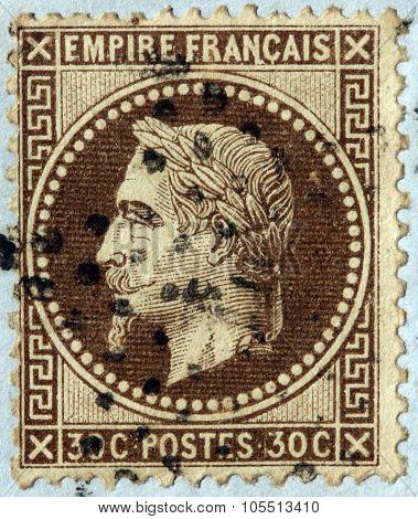 Napoleon Iii Stamp