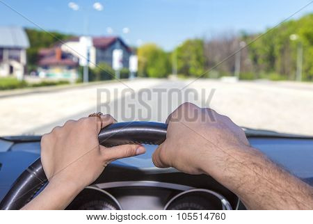Driving car together