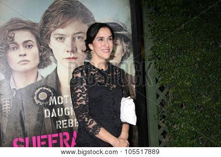 LOS ANGELES - OCT 20:  Sarah Gavron at the
