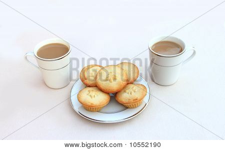Coffee with Mince Pies