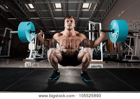 Man At The Gym.