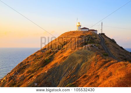 The Lighthouse At Cape Emine, Bulgaria