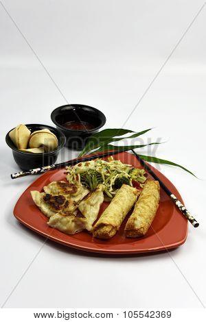 Pork Rangoon Asian Dumpling Entree